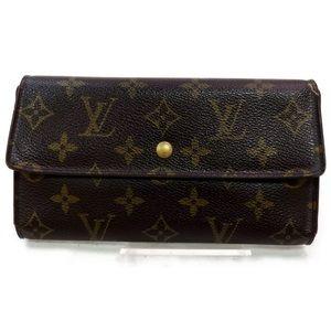 💯% Authentic Louis Vuitton Porte Tresor Wallet